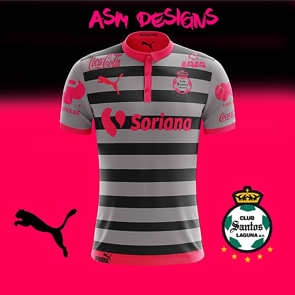 Santos Laguna 2018 Puma Away kit
