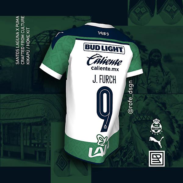 Santos Laguna Puma 2020 Kikapú Home Kit - @rofe_dsgn
