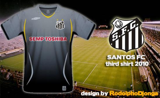 Santos FC - Third Shirt 2010