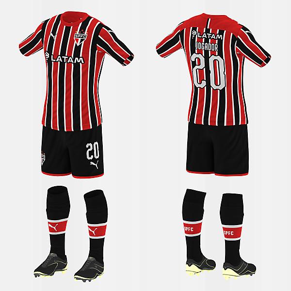 São Paulo (Away/Puma) (#fbrkits1920)