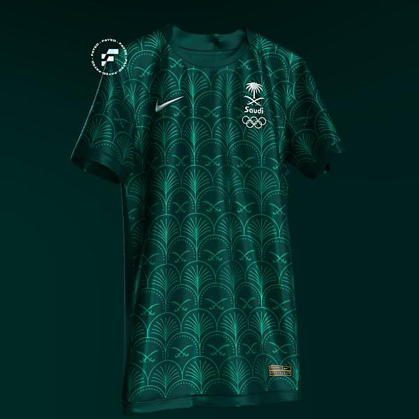 Saudi Arabia Away kit x Nike