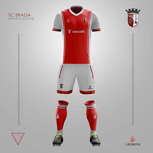 S.C. Braga Home kit