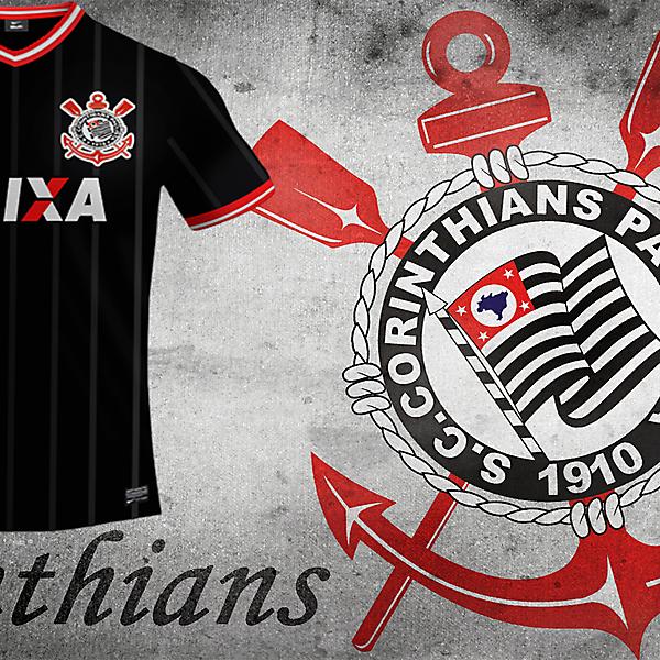 Sc Corinthians Away Nike Kit