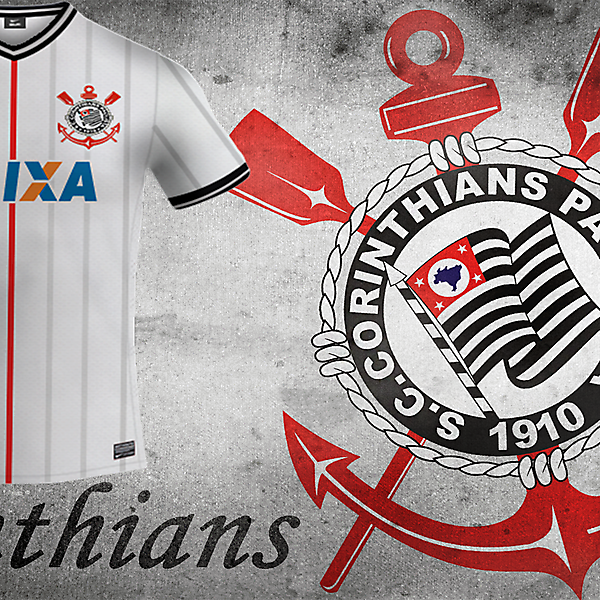 Sc Corinthians Home Nike Kit