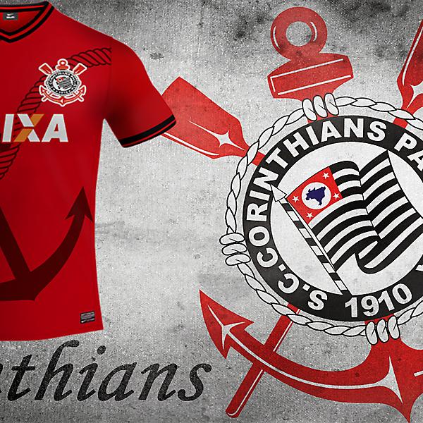 Sc Corinthians Third Nike Kit