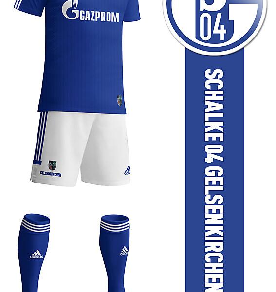 Schalke 04 2014-2015 Home