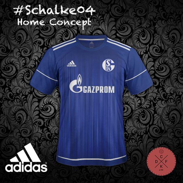 Schalke 04 Home Adidas Concept