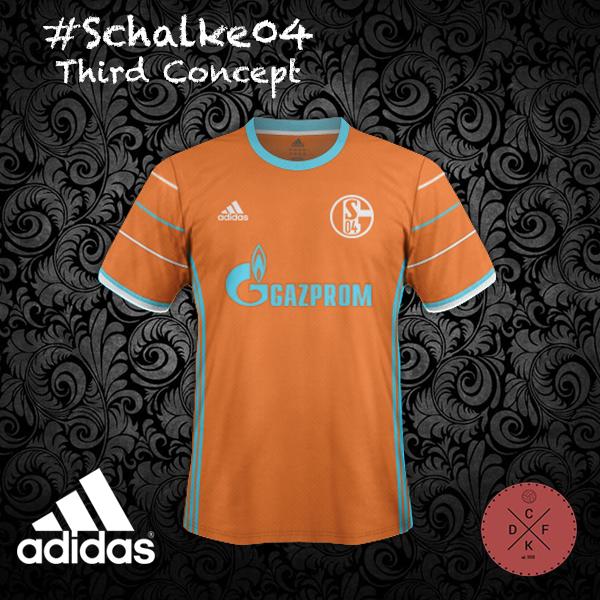 Schalke 04 Third Adidas Concept
