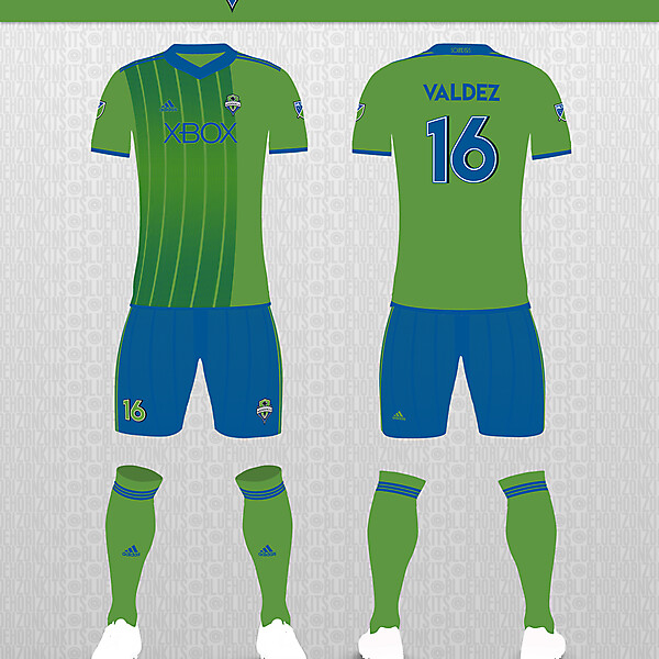 Seattle Sounders Home Kit