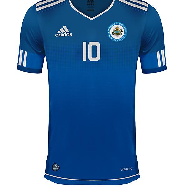 Selección de San Marino Home Adidas