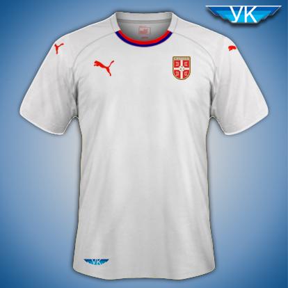 Serbia Puma Away Kit