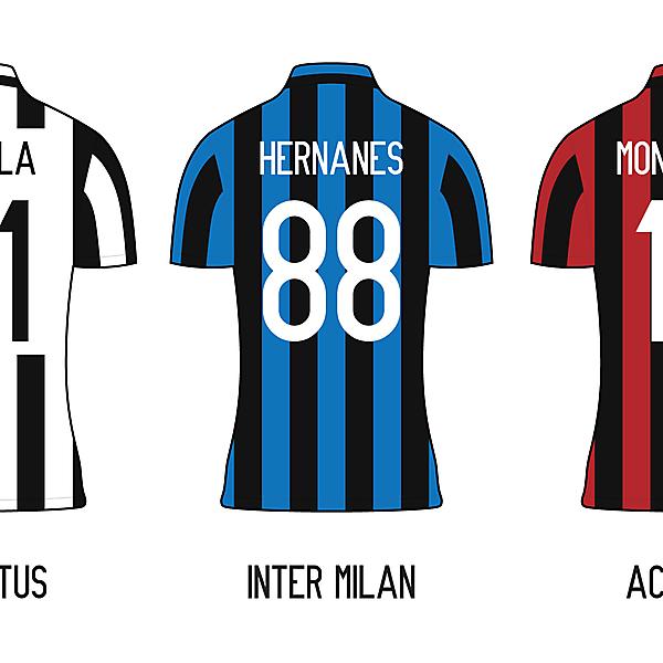 Serie A Minimalist Kits