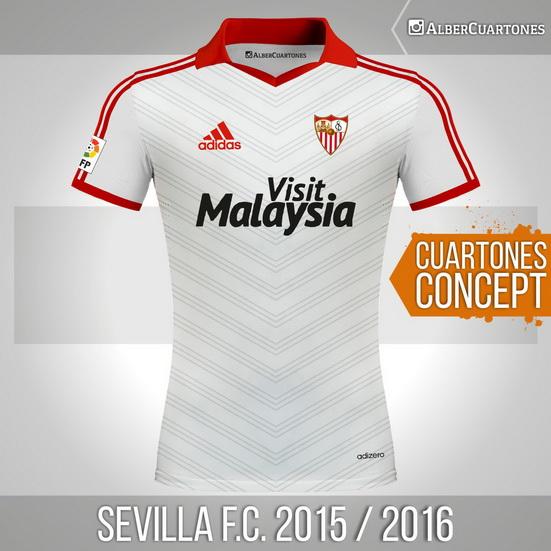Sevilla F.C.2015 / 2016 Concept Shirt