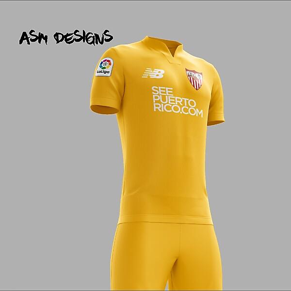 Sevilla FC 2018 New Balance Alternate Kit