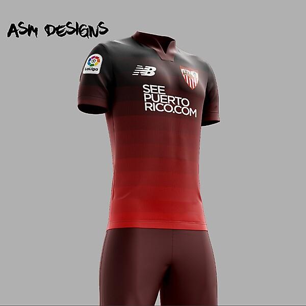 Sevilla FC 2018 New Balance Away Kit