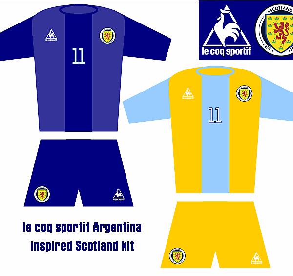 le coq sportif - Fantasy Scotland Kits