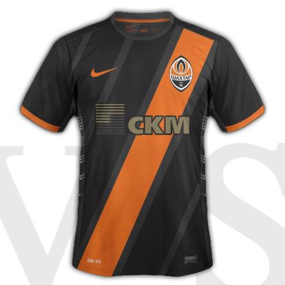 Shakhtar Donetsk Away kit 2015/15 season