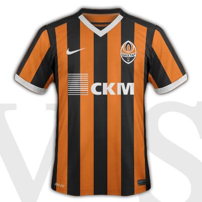 Shakhtar Donetsk Home kit 2015/15 season