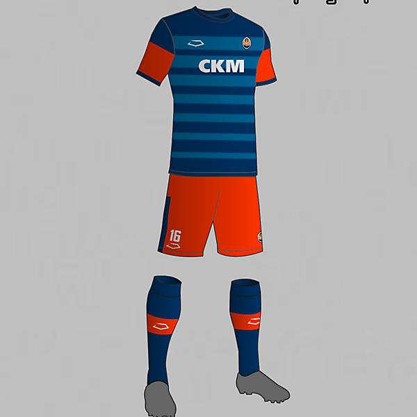 Shakhtar Donetsk (Ukraine) Third kit 2016