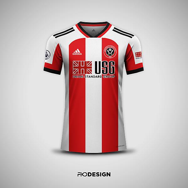 Sheffield United FC | Adidas | Home