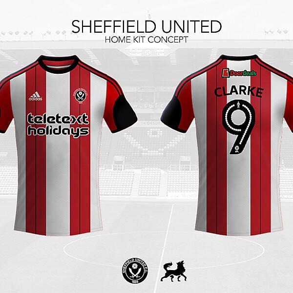 Sheffield United Home Shirt | Futwolf