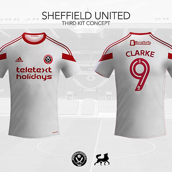 Sheffield United Third Shirt | Futwolf