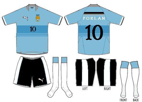 Uruguay kit