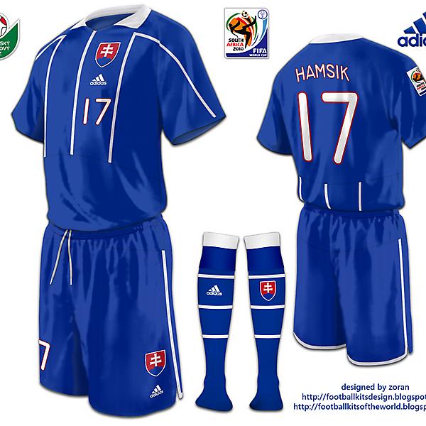 Slovakia World Cup 2010 fantasy home