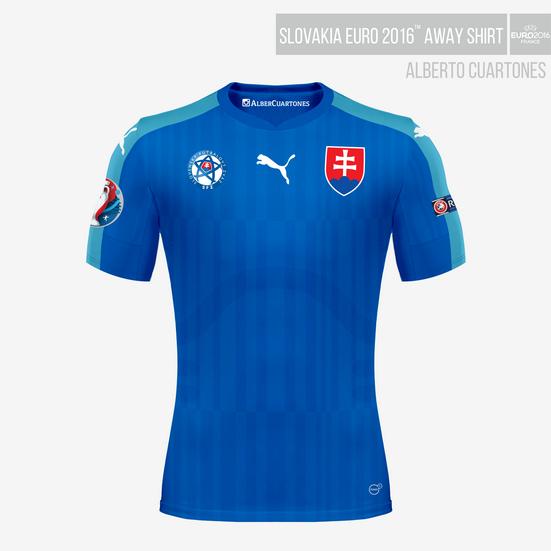 Slovakia UEFA EURO 2016™ Away Shirt