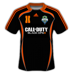 Seattle Sounders FC Adidas Third (Special Black Ops 2 Edition)