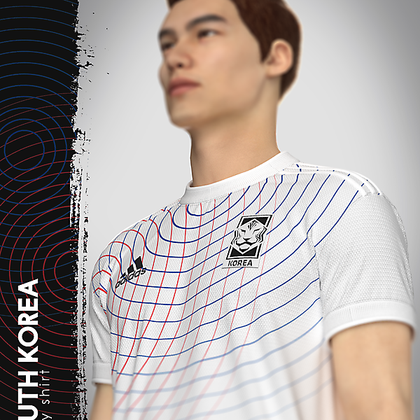 South Korea X adidas - Away Shirt