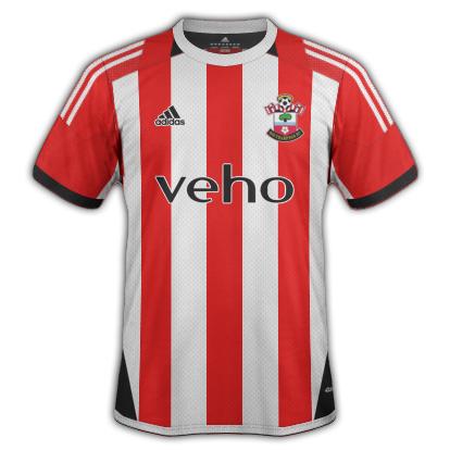 Southampton FC Home Kit 2016/17