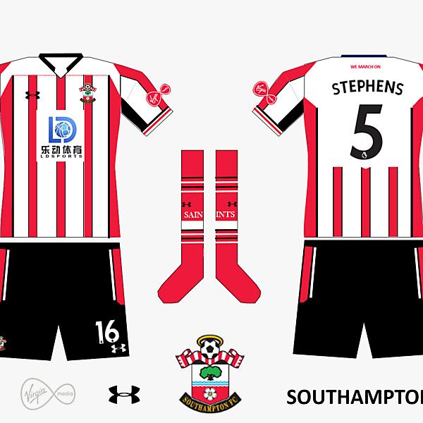 Southampton FC Home Kit 2019/2020 V.3
