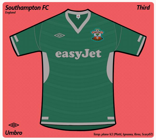 Southampton FC third (umbro)