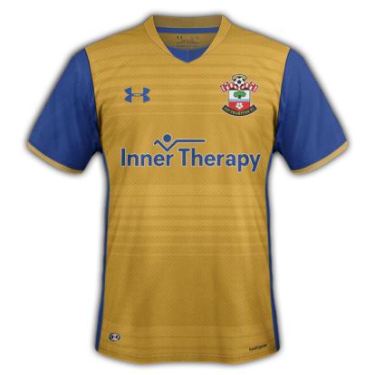 Southampton FC Under Armour Away Kit (2016-17)