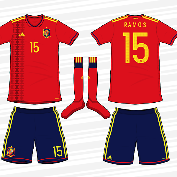 Spain 2018 World Cup Kit