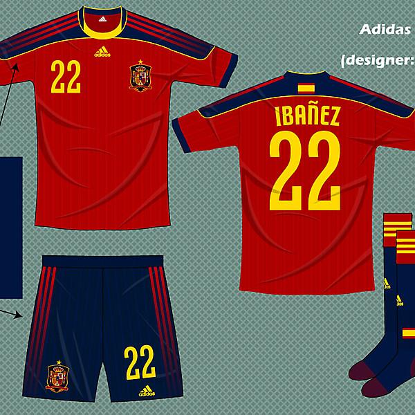 Spain adidas fantasy kit home