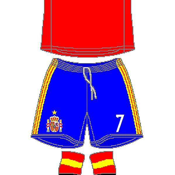 Spain Adidas Home Kit