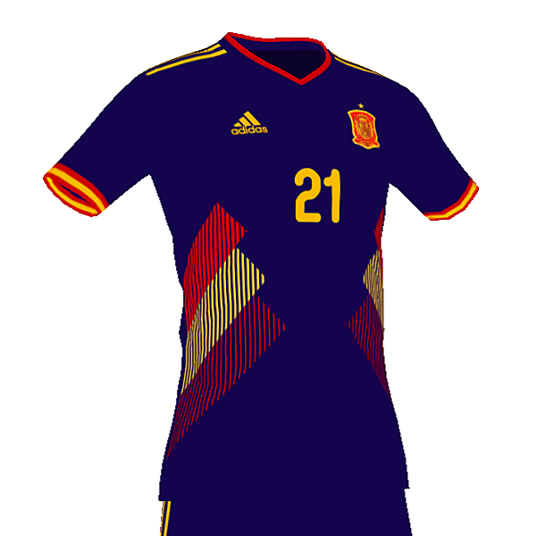 Spain Euro 2020 away