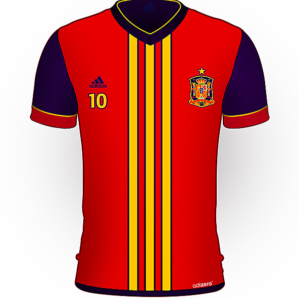 Spain Home Kit Redesign