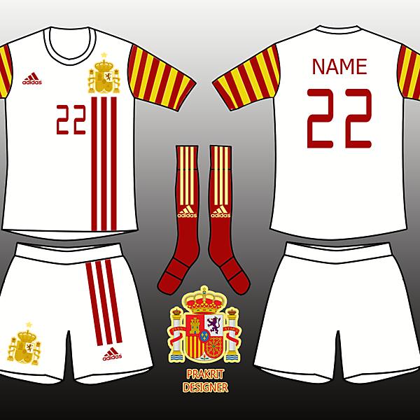 Spain Kits Away 2017
