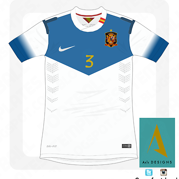 Spain National Football Team nike away kit.