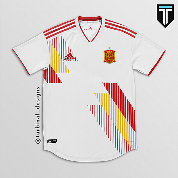 Spain Third Kit Concept