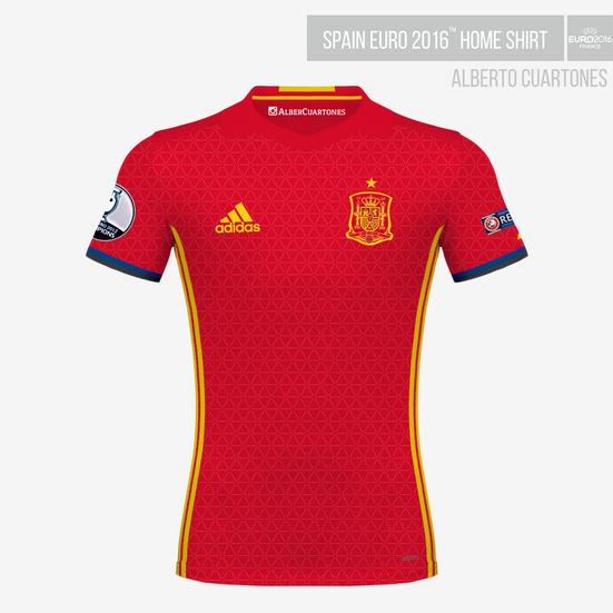 Spain UEFA EURO 2016™ Home Shirt