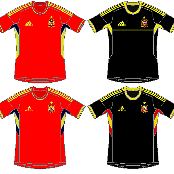 Spain Adidas World Cup Kits