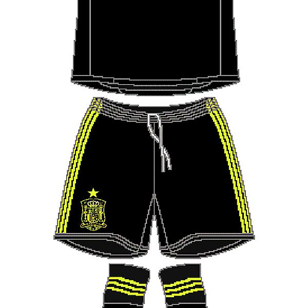 Spain World Cup Adidas Away Kit