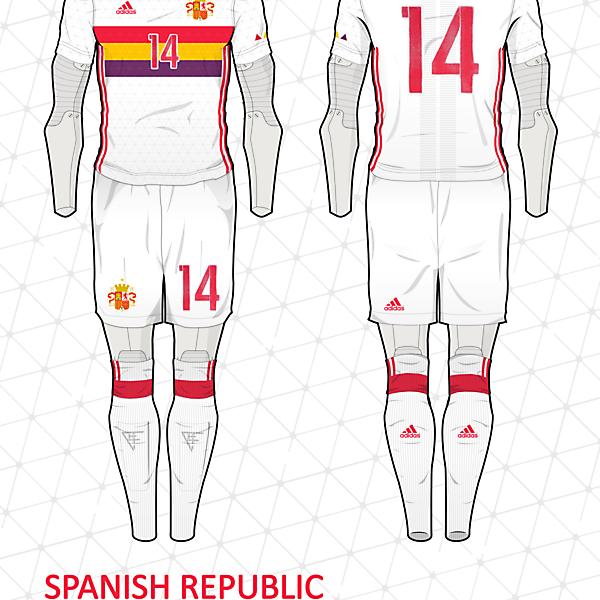 Spanish Republic Away kit