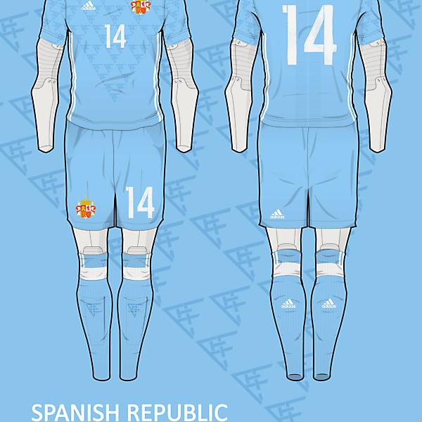Spanish Republic Away kit v2