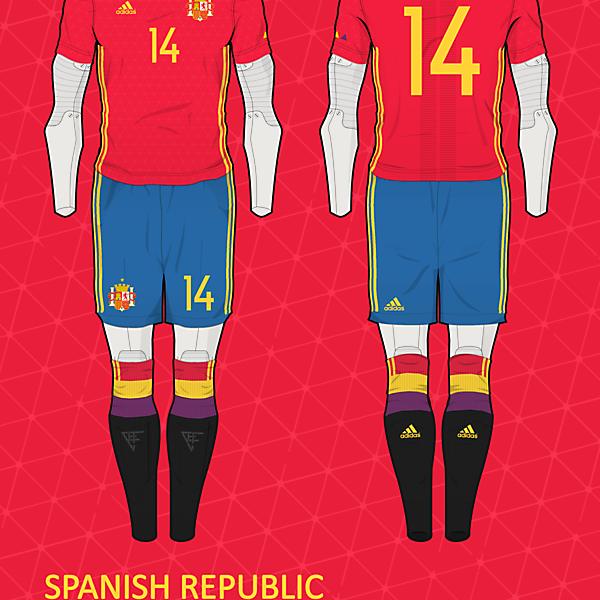 Spanish Republic Home kit