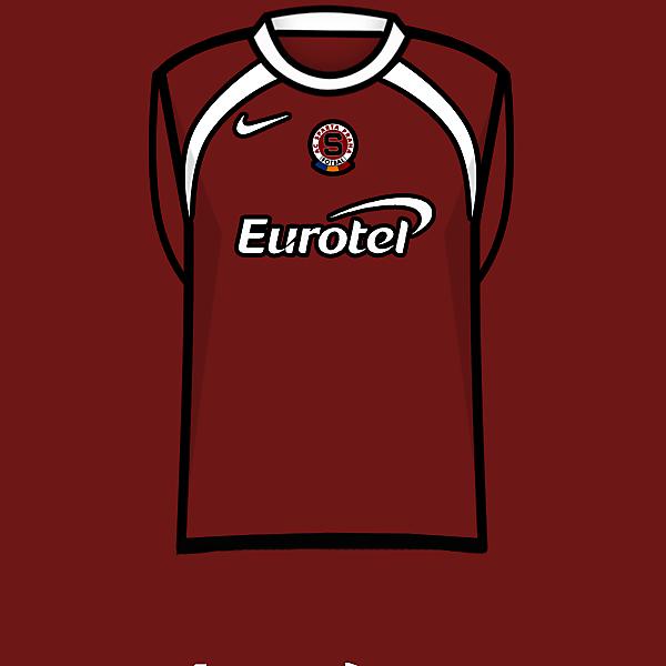 Sparta Prague home kit 05-07